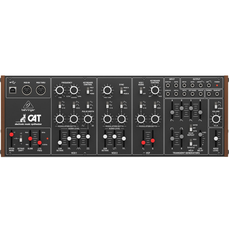 View larger image of Behringer CAT Desktop Duophonic Analog Synthesizer