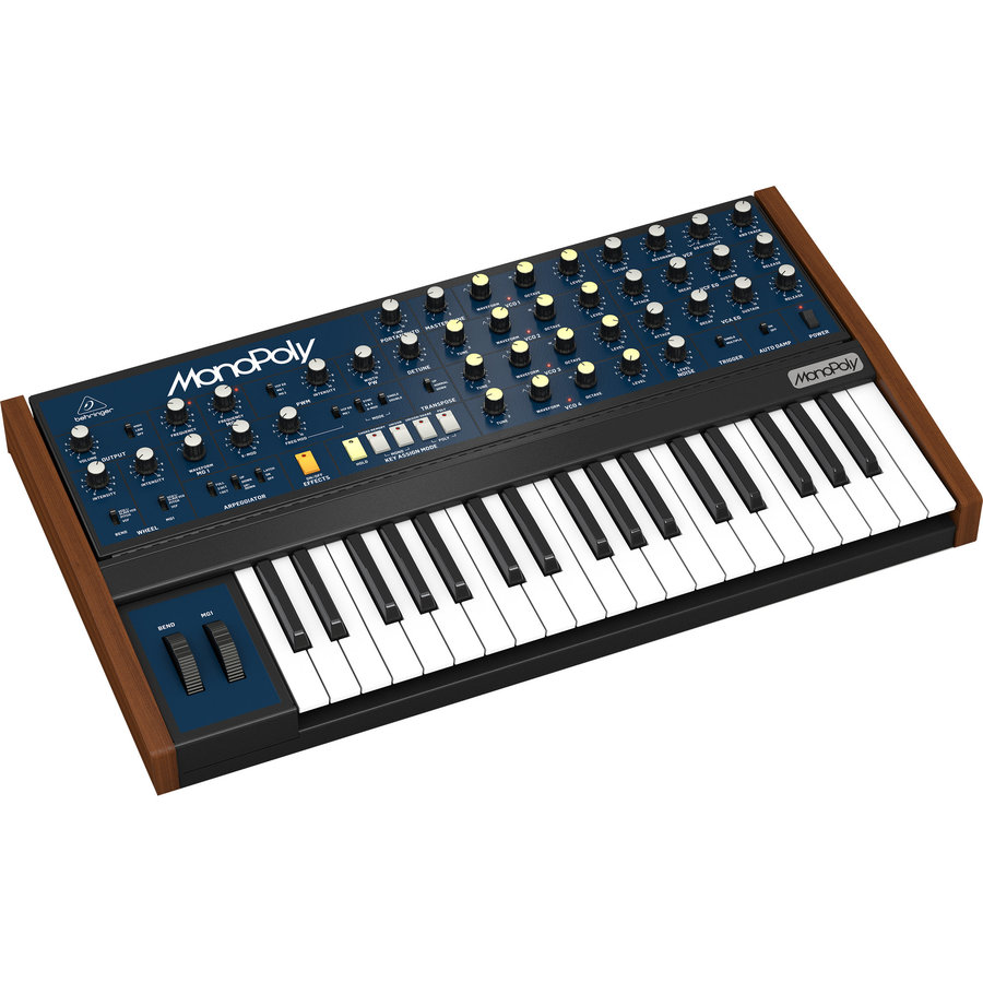 View larger image of Behringer MonoPoly 4-Voice Analog Synthesizer