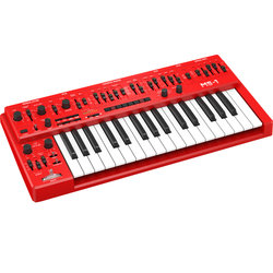 Behringer MS-1-RD Analog Synthesizer - Red
