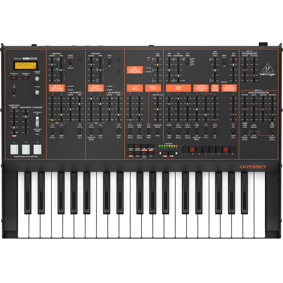 View larger image of Behringer Odyssey Analog Synthesizer