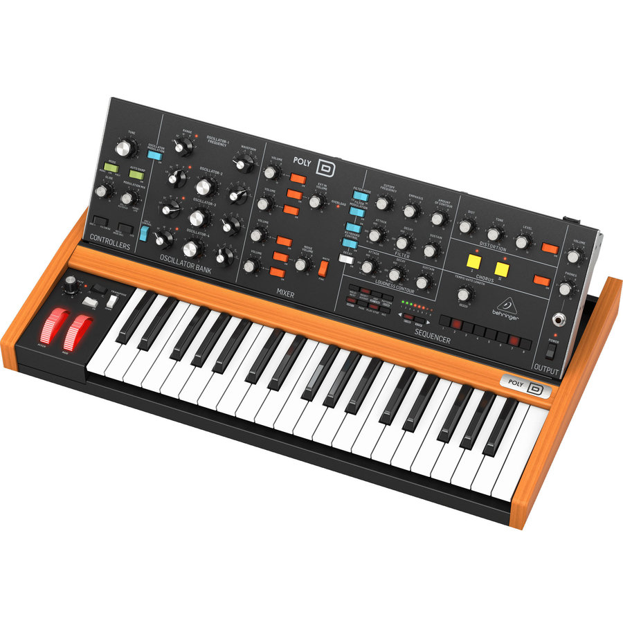 View larger image of Behringer Poly D Polyphonic Analog Synthesizer