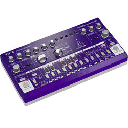 Behringer TD-3-GP Analog Bass Line Synthesizer - Purple