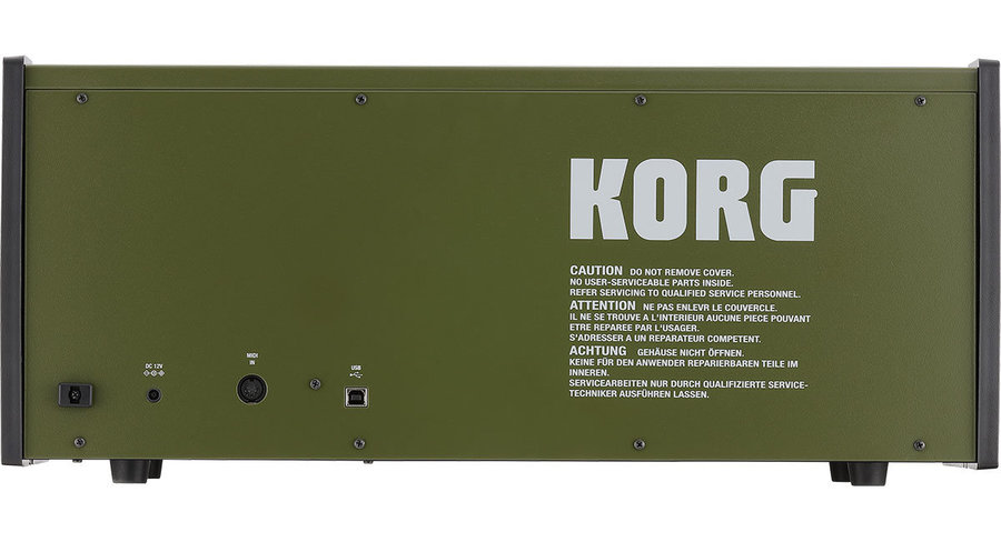 View larger image of Korg MS-20 FS Monophonic Synthesizer - Green