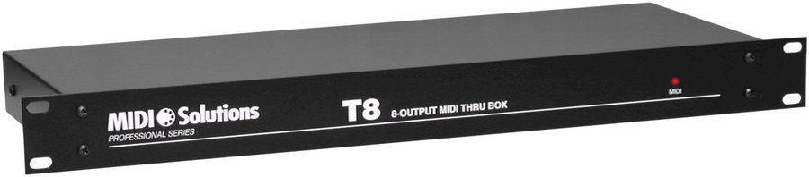 View larger image of T8 1-in 8-out MIDI Thru Box