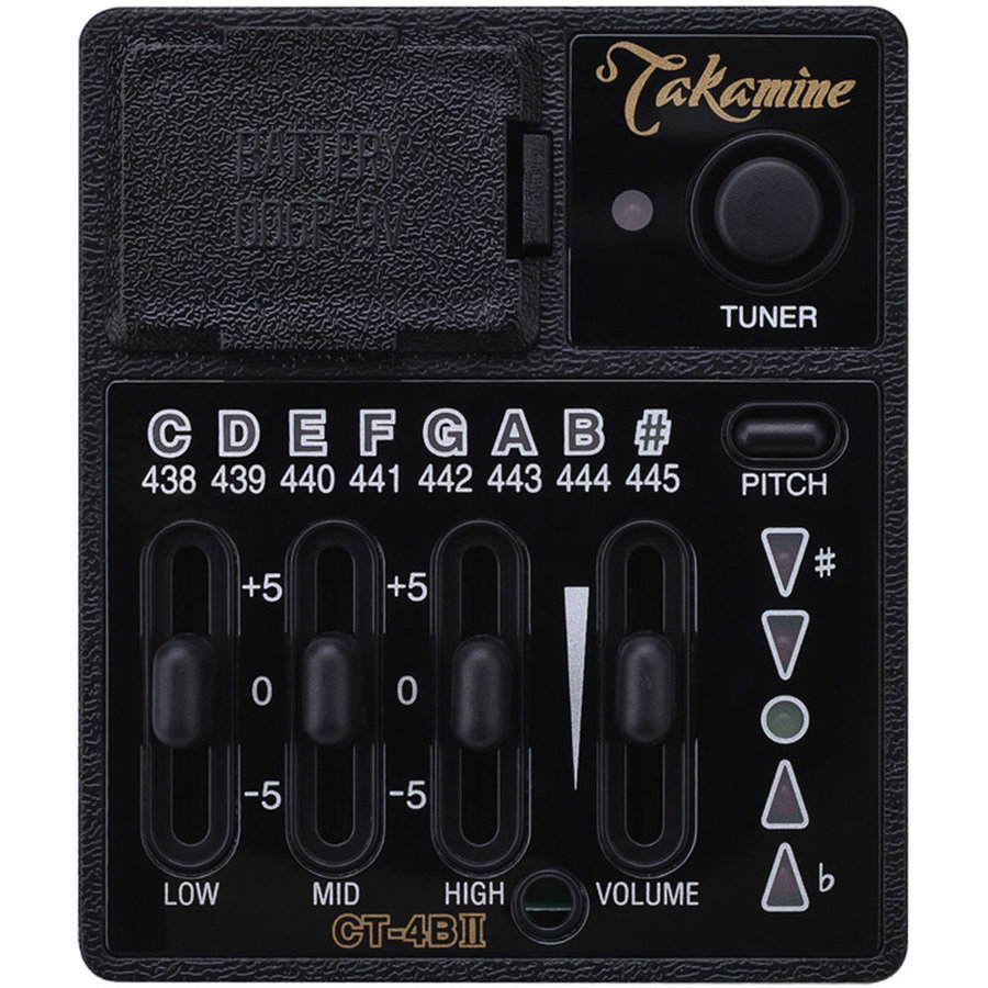View larger image of Takamine CT4B II Acoustic Guitar Preamp
