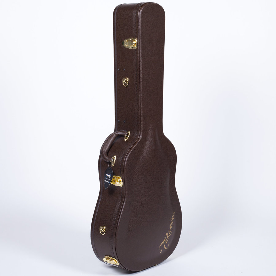 View larger image of Takamine EF341SC Dreadnought Acoustic-Electric Guitar - Gloss Black