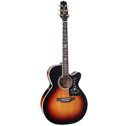 Takamine EF450C-TT BSB Acoustic - Brown Sunburst