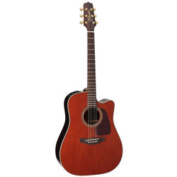 Takamine P5DC-WB Dreadnought Acoustic - Whiskey Brown