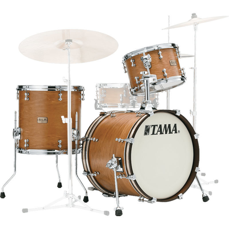 View larger image of Tama S.L.P. Shell Pack - 18/14FT/12, Vintage Hickory