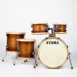 Tama S.L.P. Studio Maple 5-Piece Shell Pack - 22/16 FT/14FT/12/10, Gloss Sienna