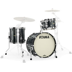 Tama Starclassic Maple 3-Piece Shell Pack - 20/14FT/12, Black Clouds and Silver Linings