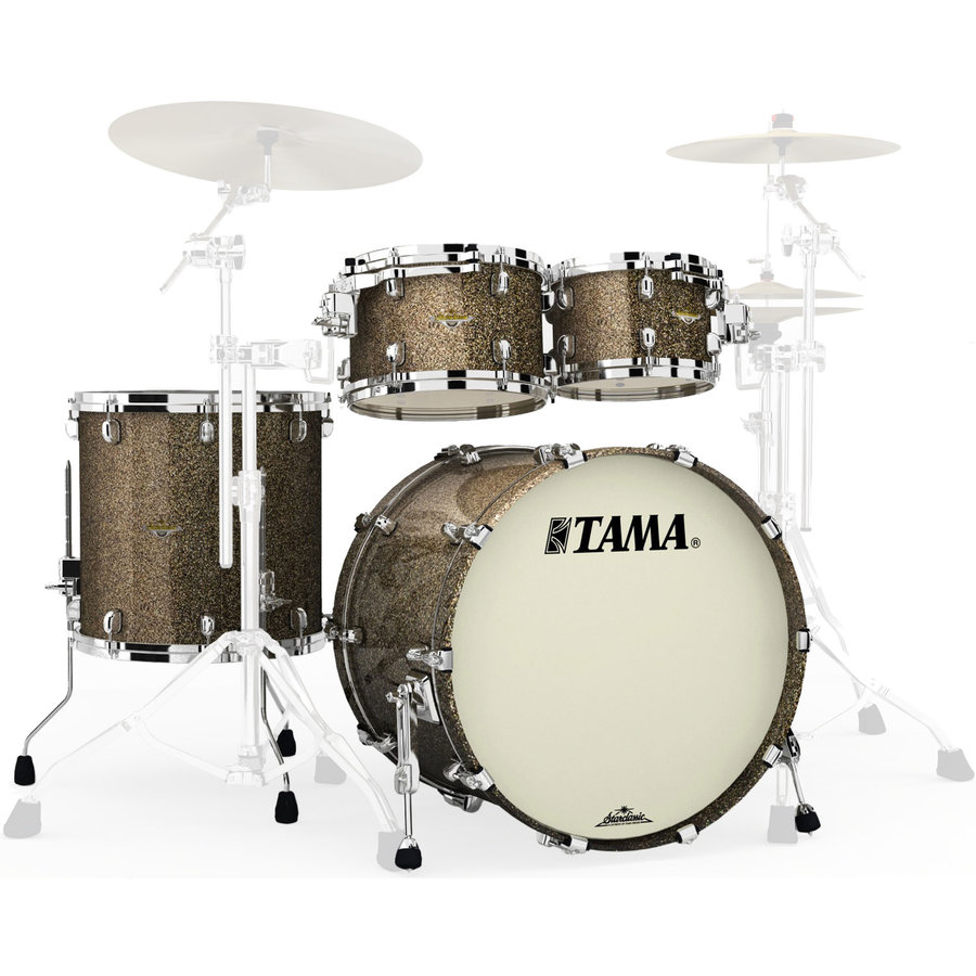 View larger image of Tama Starclassic Maple 4-Piece Shell Pack - 22/16FT/12/10, Galaxy Chameleon Sparkle