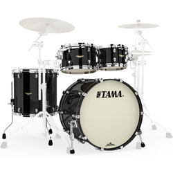 Tama Starclassic Maple 4-Piece Shell Pack - 22/16FT/12/10, Piano Black