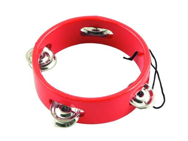 View larger image of Tambourine Ornament - Red