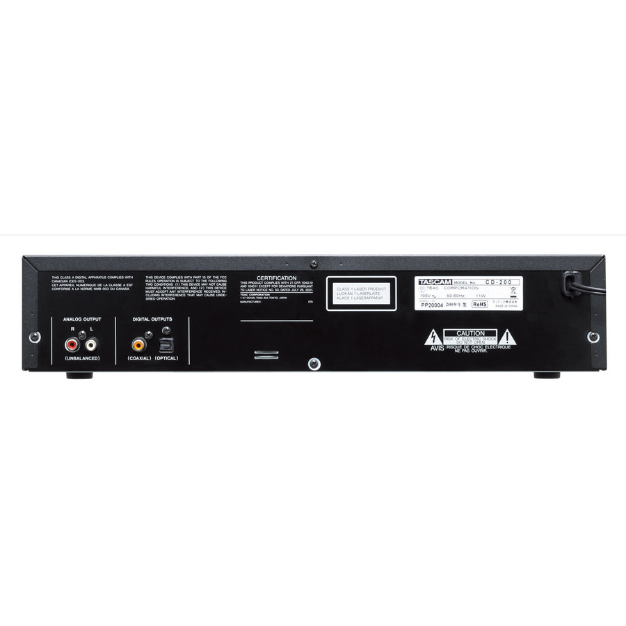 View larger image of Tascam CD-200 CD Player