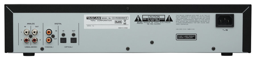 View larger image of Tascam CD-RW900MKII CD Recorder/Player