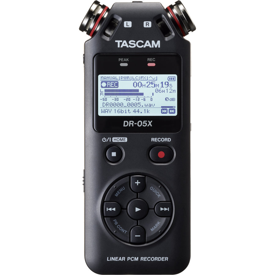 View larger image of Tascam DR-05X Stereo Handheld Recorder