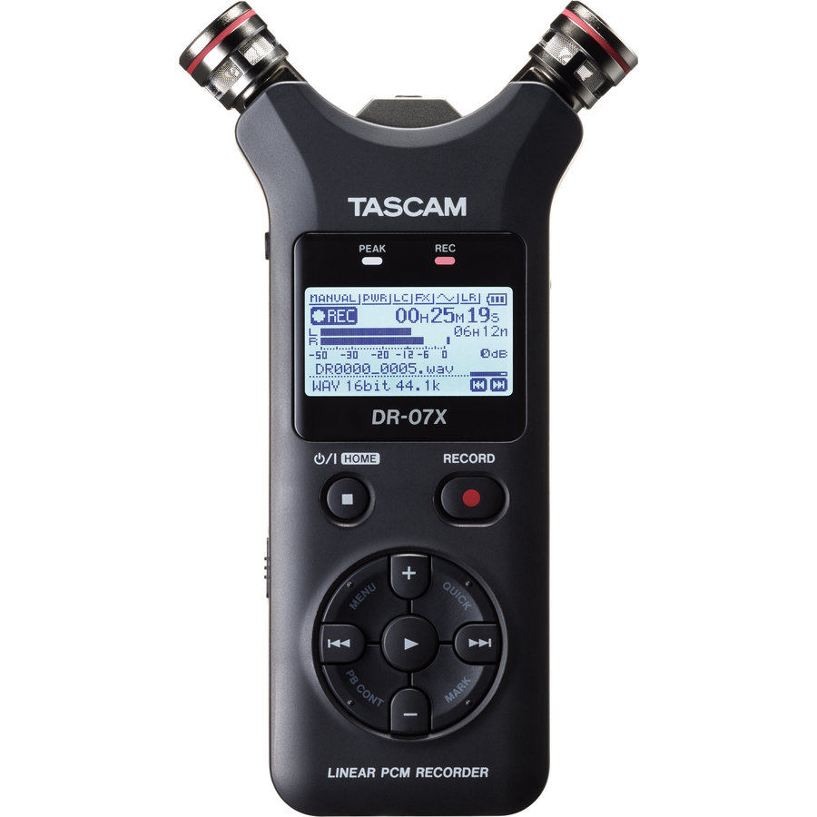 View larger image of Tascam DR-07X Stereo Handheld Recorder