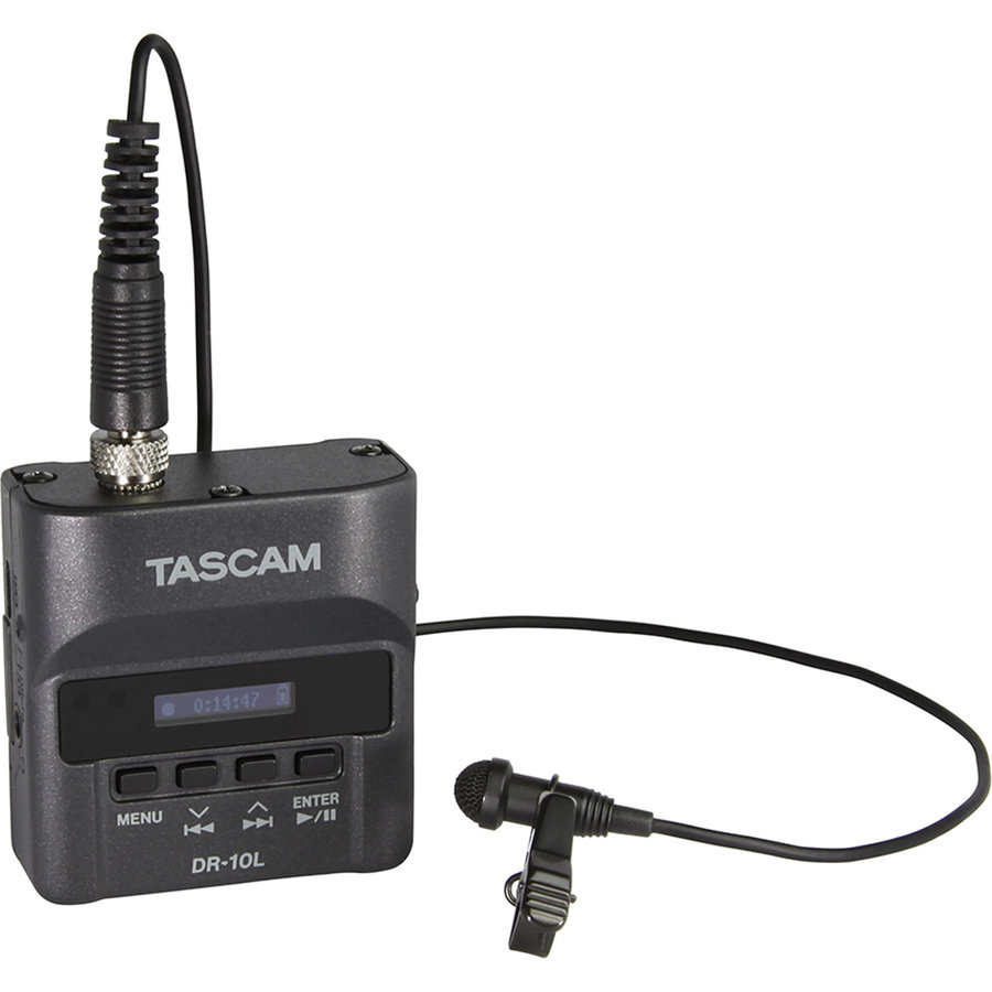 View larger image of Tascam DR-10L Micro Portable Lavalier Audio Recorder