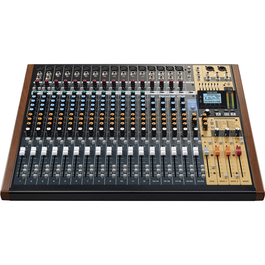 View larger image of Tascam Model 24 Live Recording Console
