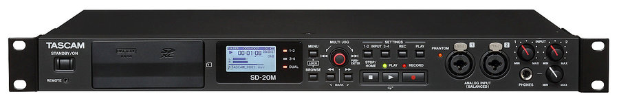 View larger image of Tascam SD-20M 4-Track Recorder