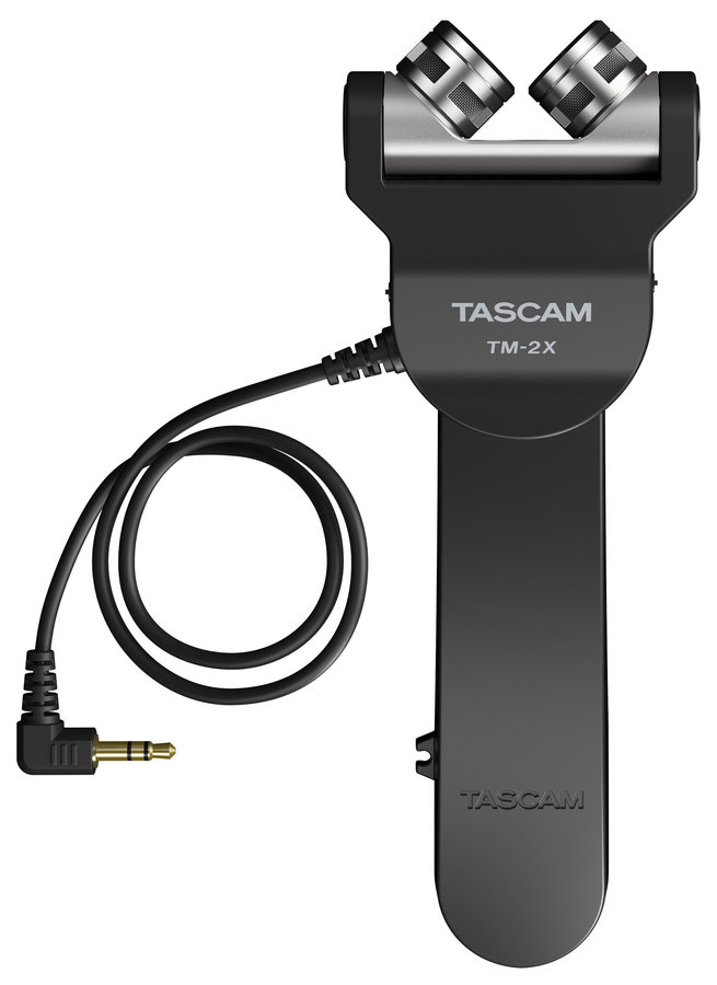 View larger image of Tascam TM-2X X-Y Stereo Microphone for DLSR