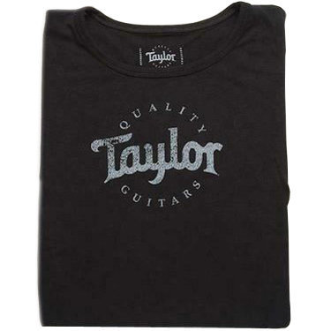View larger image of Taylor Black Logo T-Shirt - Women's Small