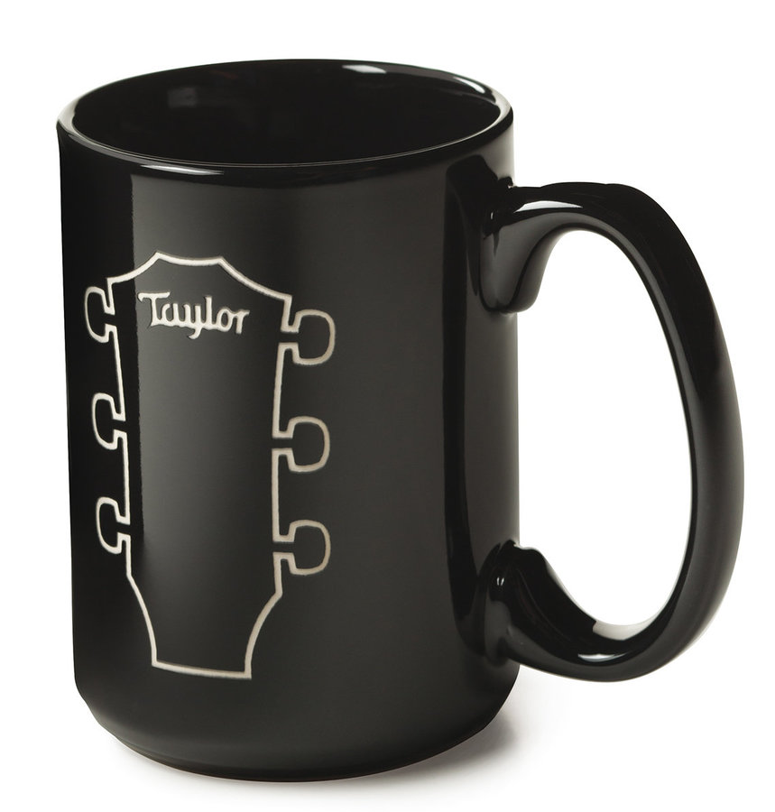 View larger image of Taylor Etched Peghead Mug - Black