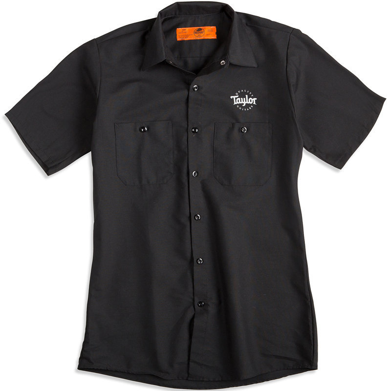 View larger image of Taylor Guitar Stamp Work Shirt - Small