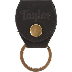Taylor Key Ring with Pick Holder - Black Nubuck