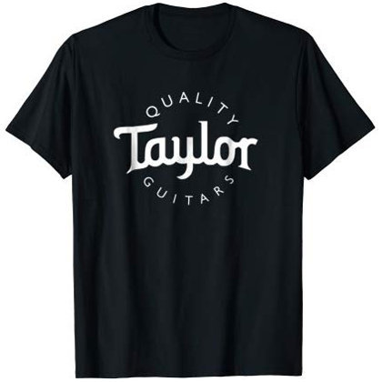 View larger image of Taylor Basic Logo T-Shirt - Black, Men's Small