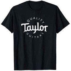 Taylor Basic Logo T-Shirt - Black, Men's Small