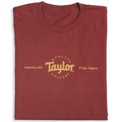 Taylor Classic T-Shirt - Red, Men's XL
