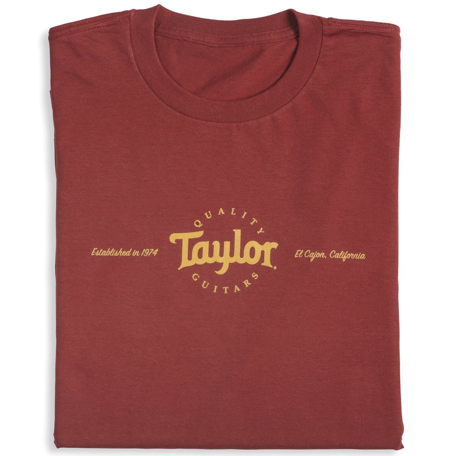 View larger image of Taylor Classic T-Shirt - Red, Men's XXL