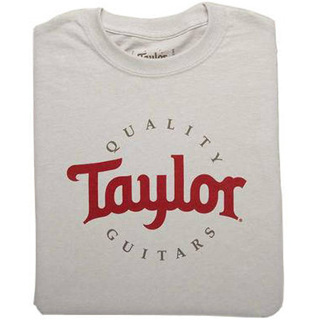 View larger image of Taylor Two-Color Logo T-Shirt - Ice Grey, Men's XXXL