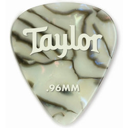 Taylor Picks - Celluloid 351, Abalone, .96 mm, 12 Pack