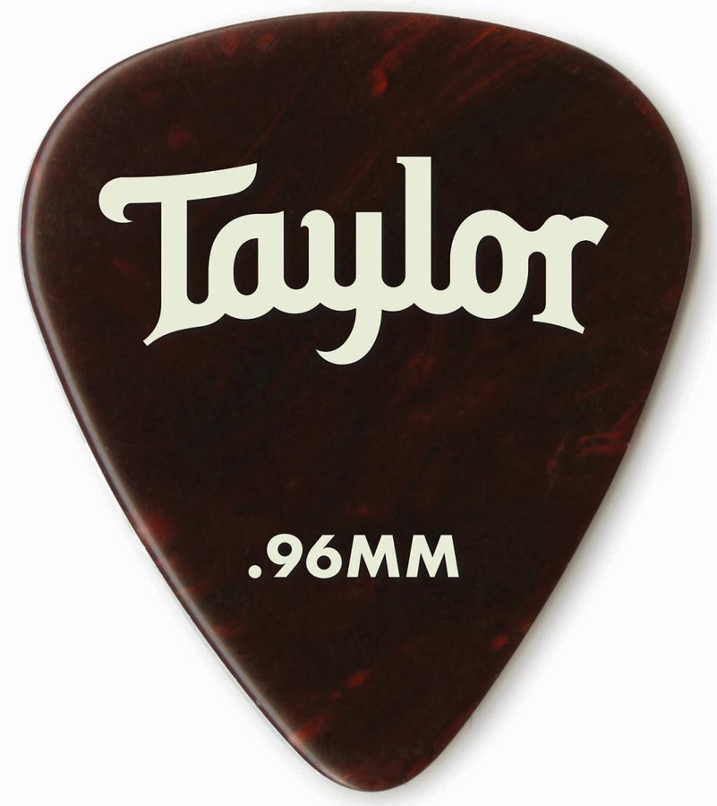 View larger image of Taylor Picks - Celluloid 351, Tortoise Shell, .96 mm, 12 Pack