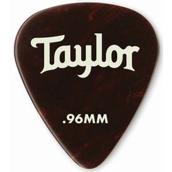 Taylor Picks - Celluloid 351, Tortoise Shell, .96 mm, 12 Pack