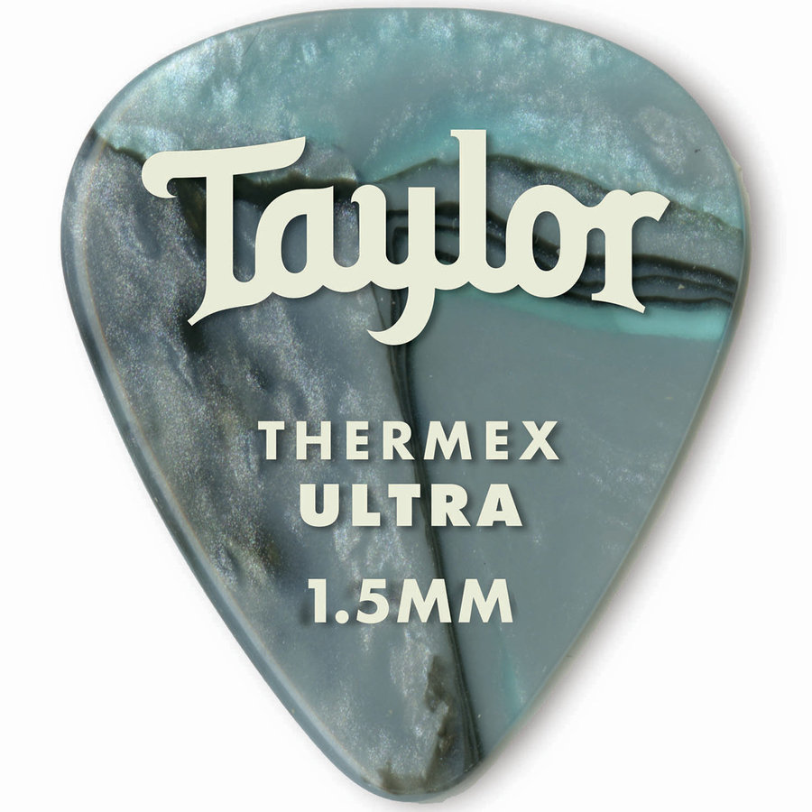 View larger image of Taylor Picks - Premium 351 Thermex Ultra, Abalone, 1.50 mm, 6 Pack