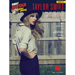 Taylor Swift Easy Guitar Play Along, TAB with CD