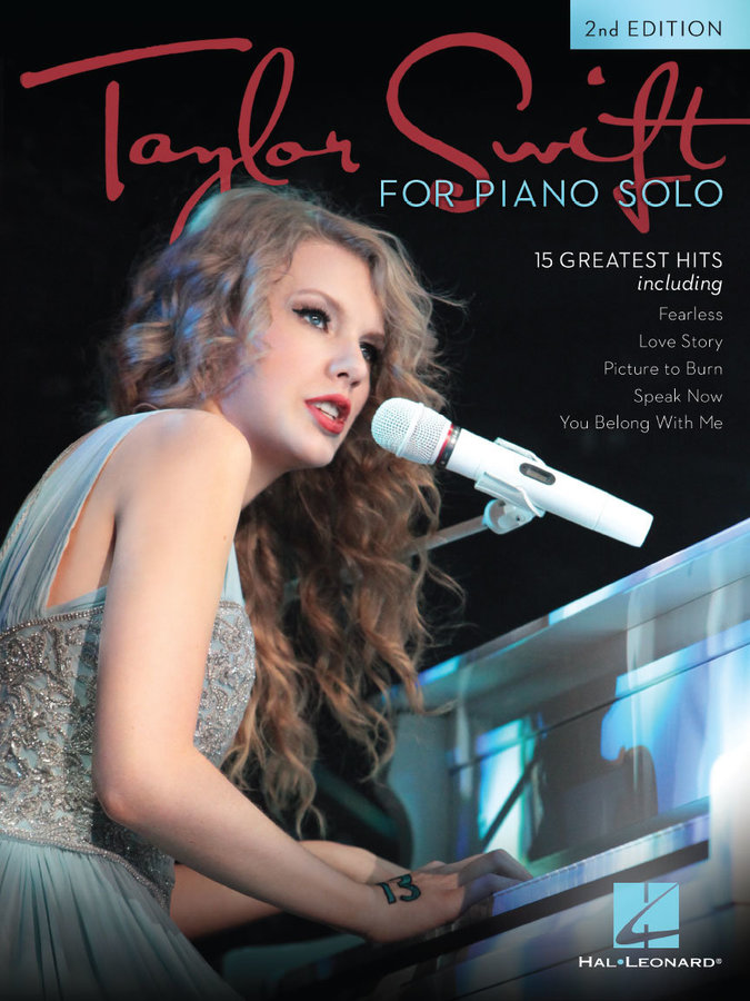 View larger image of Taylor Swift for Piano Solo - 2nd Edition