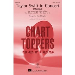 Taylor Swift in Concert (Medley) - ShowTrax CD