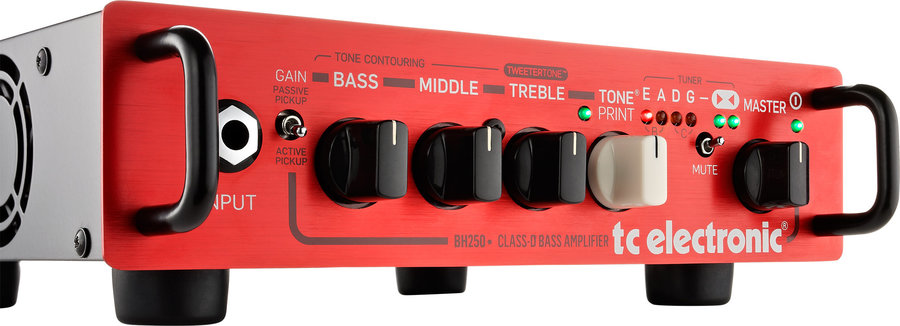 View larger image of TC Electronic BH250 TonePrint Enabled Micro Bass Head