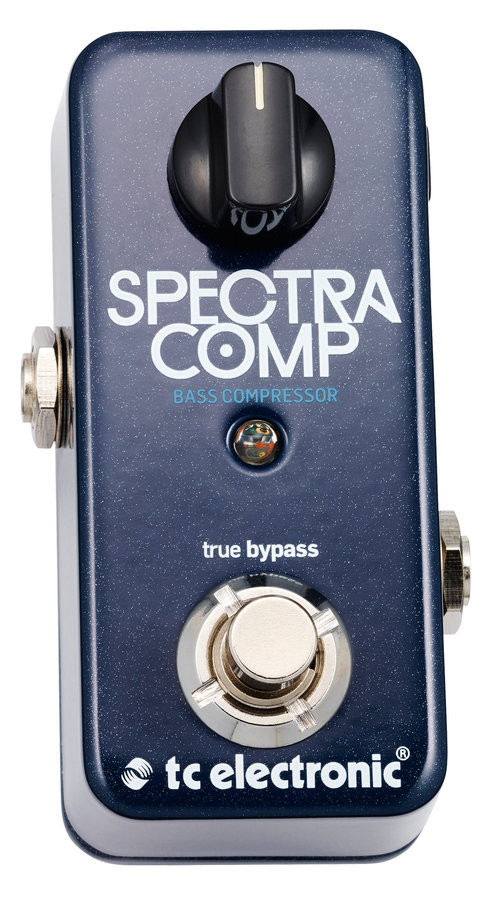View larger image of TC Electronic SpectraComp Bass Compressor Pedal