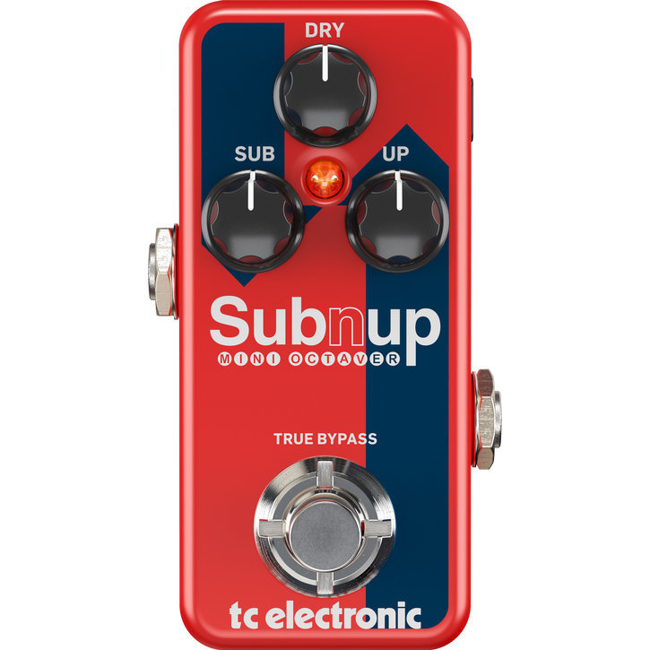 View larger image of TC Electronic Sub 'N' Up Mini Octaver Pedal