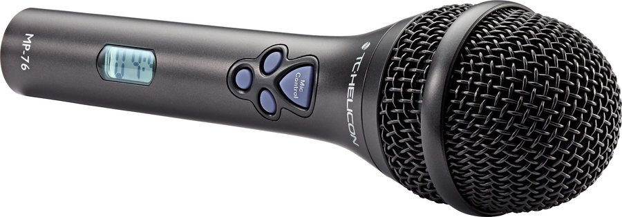 View larger image of TC-Helicon MP-76 4 Button Microphone with Display