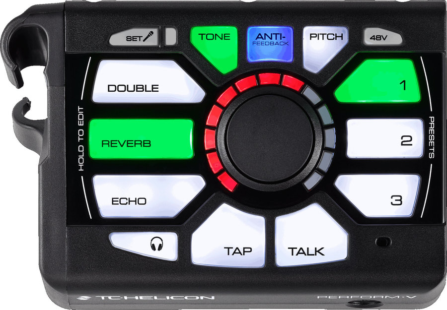 View larger image of TC Helicon Perform-V Voice Processor