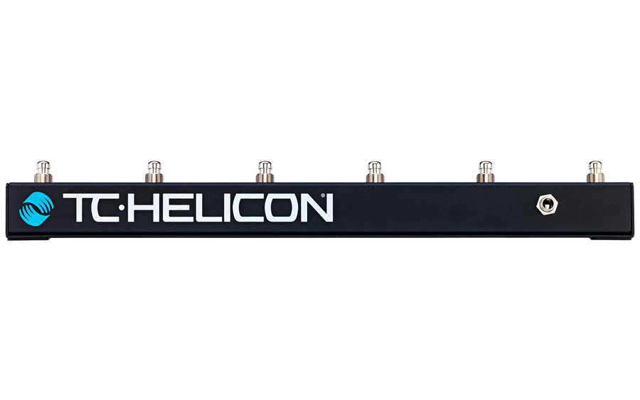 View larger image of TC Helicon Switch 6 Footswitch Pedal - 6 Button