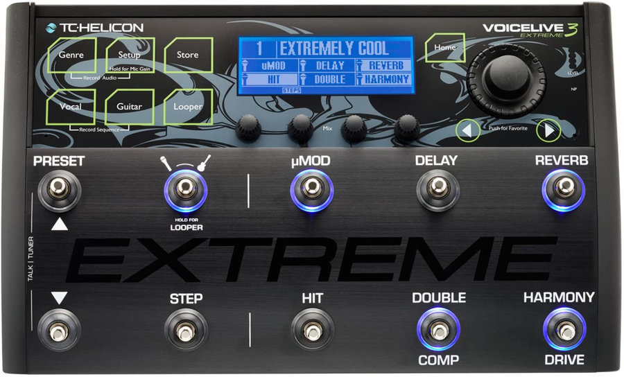 View larger image of TC Helicon Voicelive 3 Extreme Effect Pedal