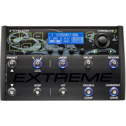 TC Helicon Voicelive 3 Extreme Effect Pedal